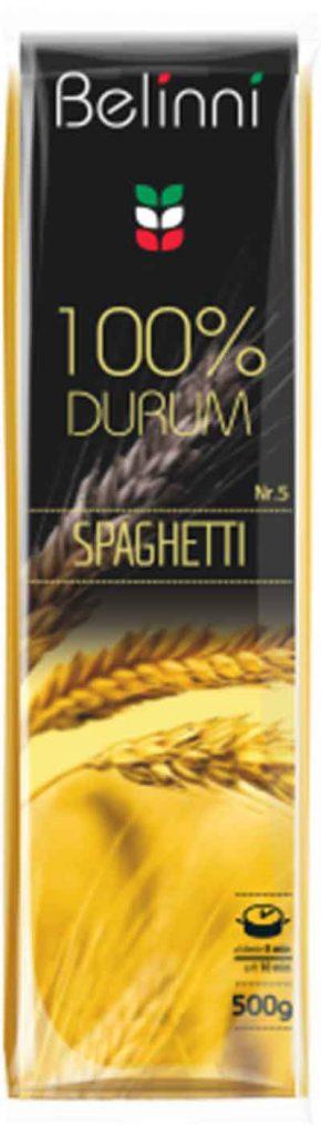 """Спагетти. Изделия макаронные нитеобразные тонкие ДСТУ 7043:2009. ТМ """"Belinni"""""""