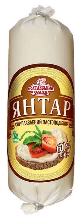 """Сыр плавленый пастообразный """"Янтарь"""""""