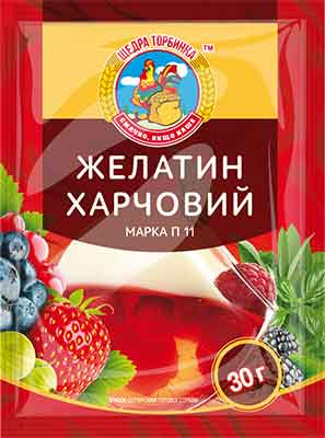 Желатин харчовий марка П-11