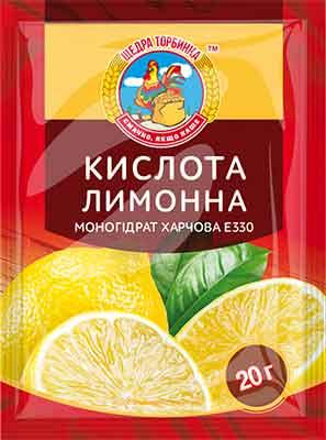 Кислота лимонна моногідрат харчова (Е330)